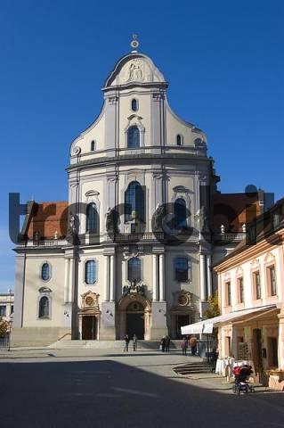 Church Saint Anna, Place of pilgrimage, Altoetting, Bavaria, Germany