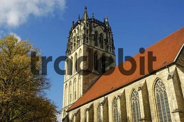 Liebfrauenkirche, Muenster, North Rhine-Westphalia, Germany