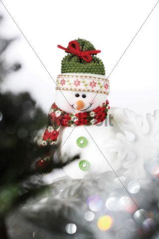 Snowman figurine, Christmas decoration