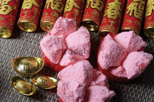 Religious offerings for Chinese New Year