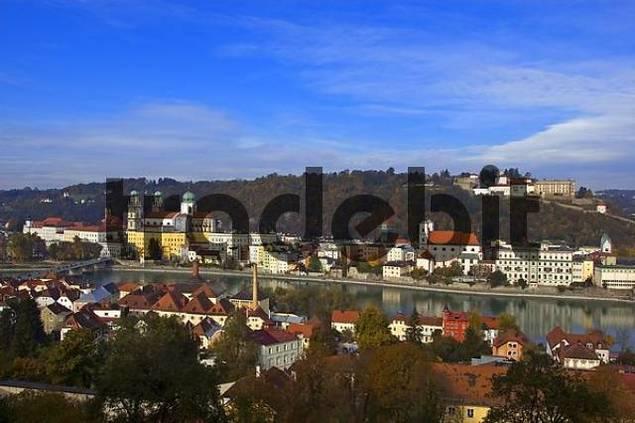 View on Passau, Bavaria, Germany