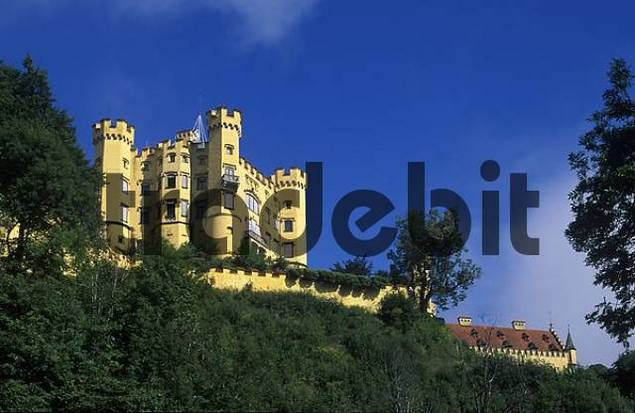 Hohenschwangau Castle Schwangau - Bavaria Germany