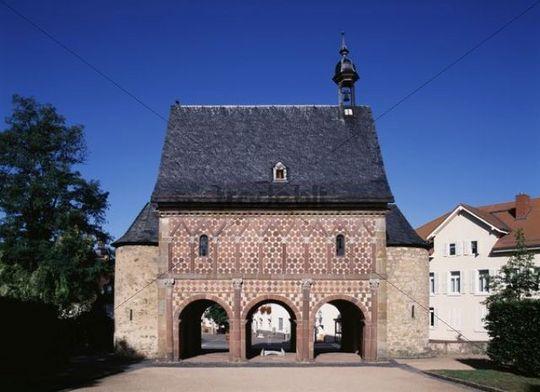 Lorsch Abbey, near Worms, Rhineland-Palatinate, Germany, Europe
