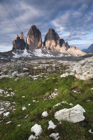 Three Peaks, Alto Adige, Italy, Europe
