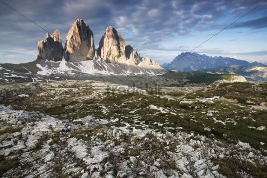 Three Peaks, Alto Adige, Italy, Europe