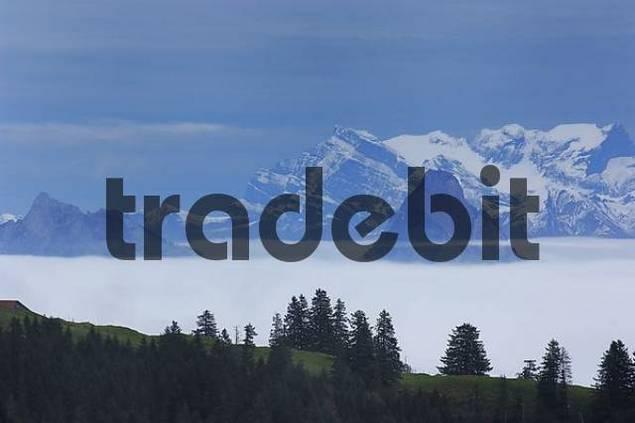 inversion at the Large Mythen, Canton Schwyz, Switzerland