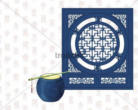 Illustration, painting, Chinese