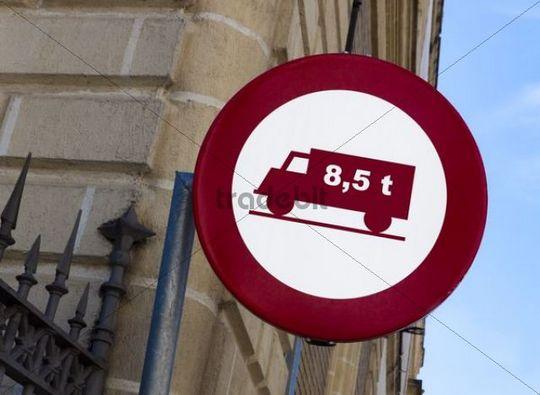 Road signs in Spain, Europe