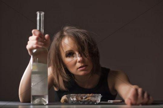 Drunk Woman 79
