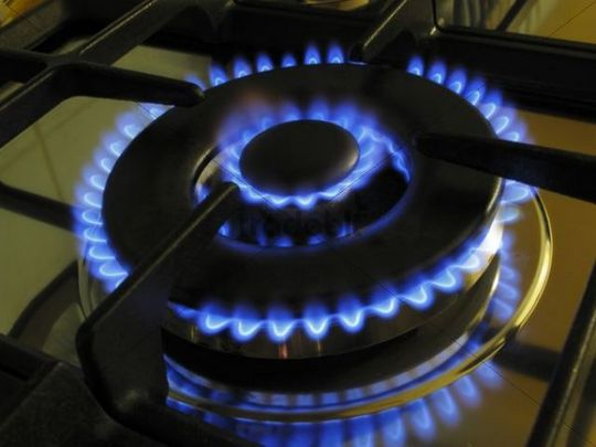 gas stove flame. Gas Flame Of A Stove O