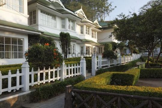 Hotel Eastend, colonial style, Munnar, Kerala, India, South Asia, Asia