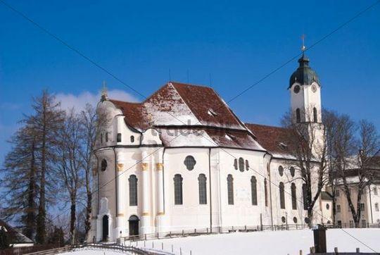 the baroque pilgrimage church of wies allgaeu bavaria