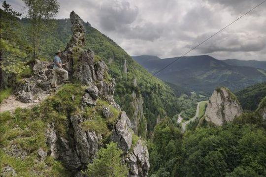 Rockery, Tiesnavy, Mala Fatra National Park, Slovakia, Europe