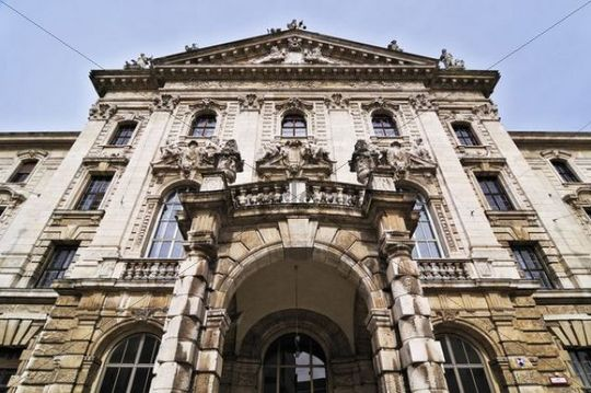 Justizpalast Palace of Justice, Prielmayerstr. 7, Munich, Bavaria, Germany, Europe