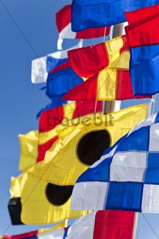 International maritime signal flags, international code of signals
