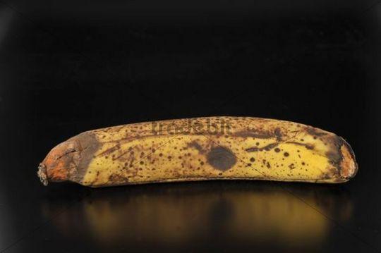 Over-ripe banana