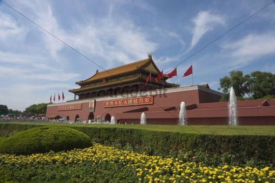 Gate of Heavenly Peace, Tiananmen, Beijing, China, Asia