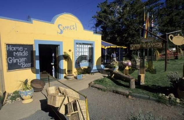 street cafe in Prince Albert, Klein Karoo region, South Africa