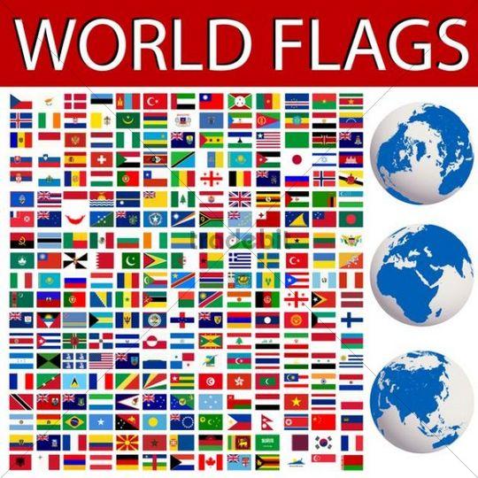 Nationalfahnen Der Welt
