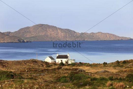 Coastline near Eyeries, Beara Peninsula, County Cork, Ireland, British Isles, Europe