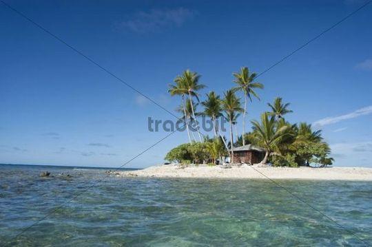 Tourist resort, Chuuk island, Micronesia, Pacific Ocean