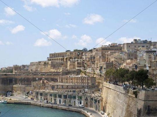 Cityscape, Valletta, Malta island, Republic of Malta, Europe