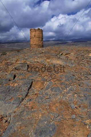 Watch tower near Al Hamra, Oman, Middle East
