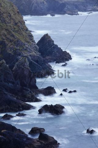 Surf, Dunmore Head, Dingle Peninsula, County Kerry, Ireland, British Isles, Europe
