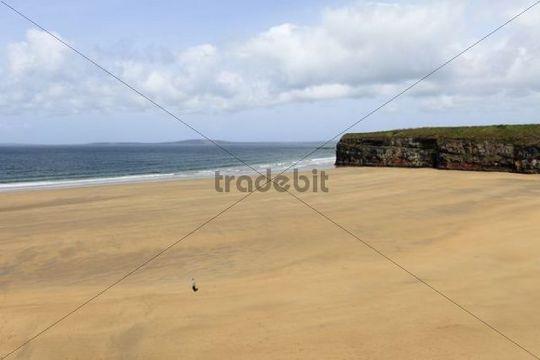 Ladies Beach, Ballybunion, County Kerry, Ireland, British Isles, Europe
