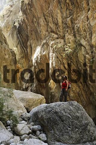 Sarakina- gorge near Mythi, Crete, Greece