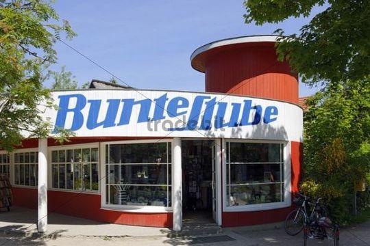 bunte stube shop design by rostock bauhaus architect walter butzek. Black Bedroom Furniture Sets. Home Design Ideas