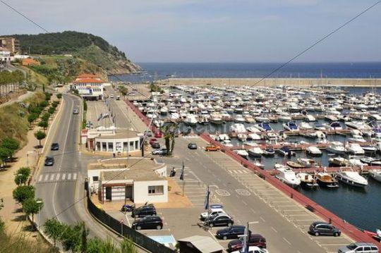 Yacht port of Palamos, Costa Brava, Spain, Iberian Peninsula, Europe