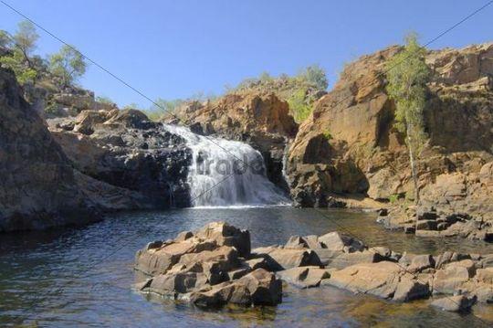 Edith Falls in Nitmiluk National Park, Katherine Gorge National Park, Australia