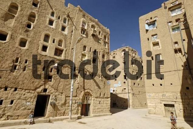 old town of Amran, Yemen