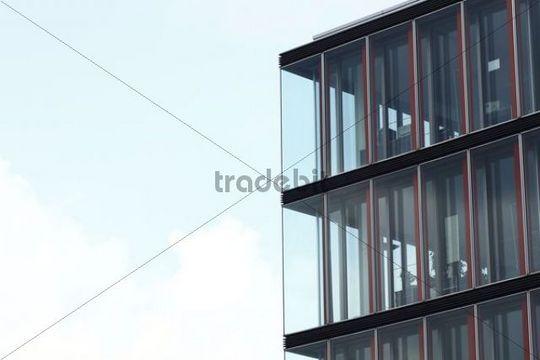 Modern architecture, Neumuehlen district, Hamburg, Germany, Europe
