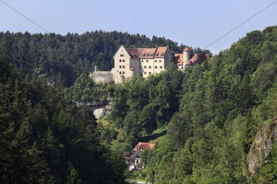Burg Rabenstein Castle, Ahorntal Valley, Franconian Switzerland, Franconian Alb, Upper Franconia, Franconia, Bavaria, Germany, Europe