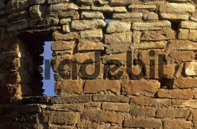 indian cliff dwelling at Hovenweep National Monument, Colorado, USA