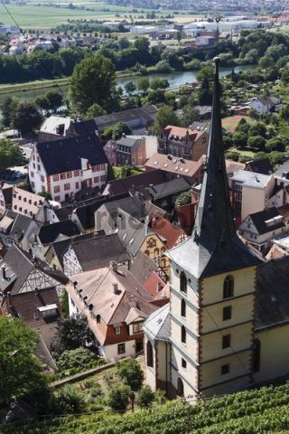 Klingenberg am Main, Mainfranken, Lower Franconia, Franconia, Bavaria, Germany, Europe