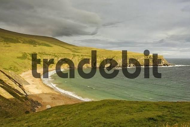 a bay at Malin Head, Donegal, Ireland