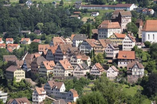 Altensteig, Black Forest mountain range, Baden-Wuerttemberg, Germany, Europe
