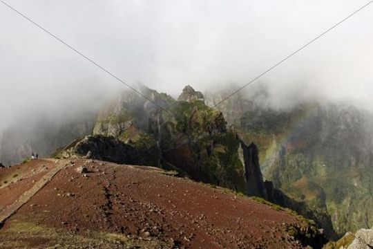 Mt Pico do Arieiro, Arieiro, 1818m, Madeira, Portugal, Europe