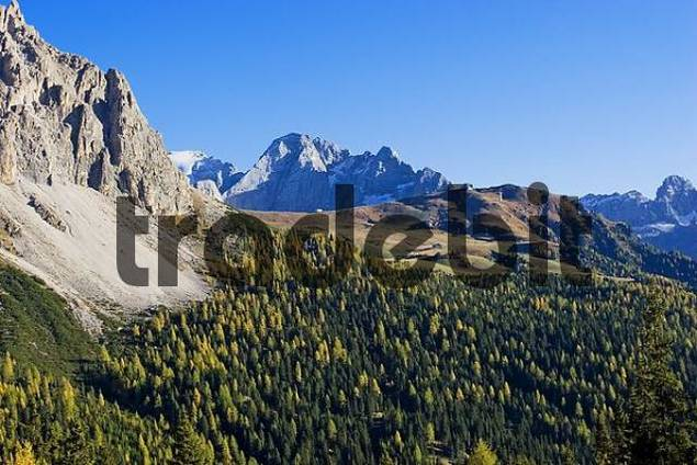 autumn in Dolomite Alps, Italy