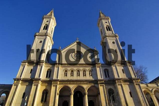 Ludwigskirche, Munich, Bavaria, Germany