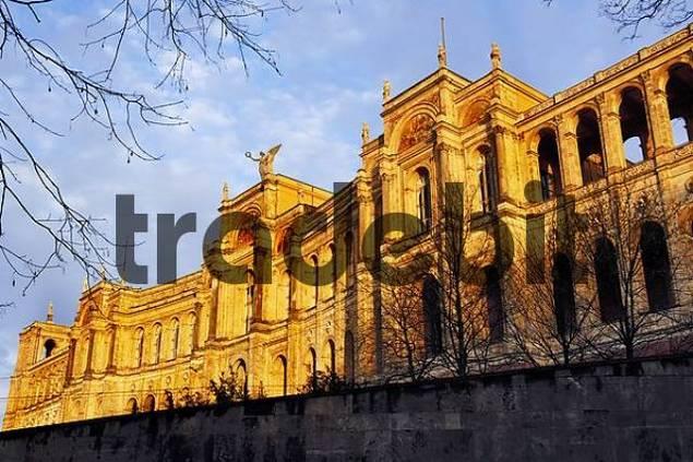 Maximilaneum, parliament, Munich, Bavaria, Germany