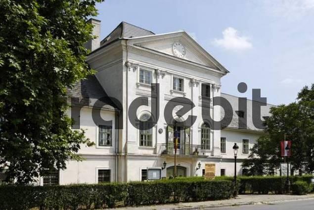 Potzneusiedl castle Burgenland Austria Center of Art and Antiques