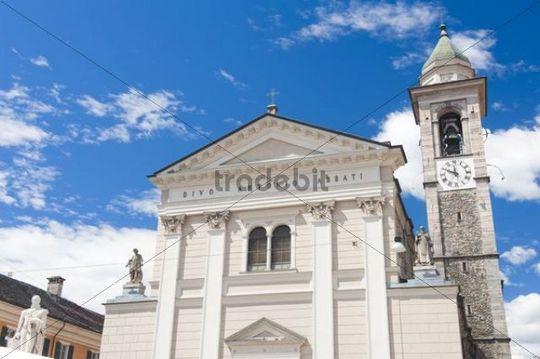 Chiesa S. Antonio Abate church, Locarno, Tessin, Switzerland, Europe