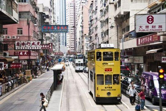 Downtown Hong Kong Island, China, Asia