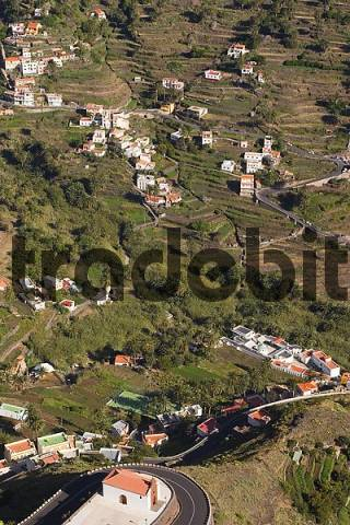 Valle Gran Rey - view from Mirador Cesar Manrique - La Gomera