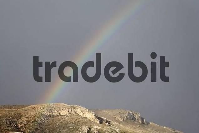 rainbow, Eastern Crete, Greece