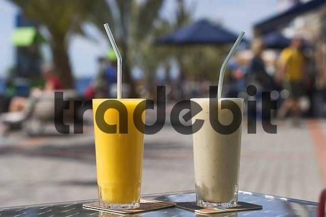 juices in La Playa - Valle Gran Rey - La Gomera